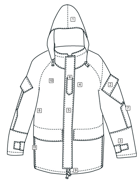 H2O PROOF™ GEN-2 ECWCS PARKA