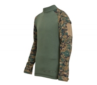 БОЕВАЯ РУБАШКА/COMBAT SHIRT:DIGITAL WOODLAND