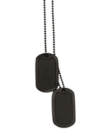 Жетоны Dog Tag:Black