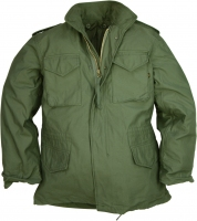 КУРТКА M65 ALPHA INDUSTRIES Цвет: GREEN.