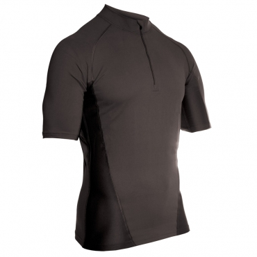 BLACKHAWK ENGINEERED FIT SHIRT, КОР/Р, 1/4молн, ЦВЕТ: BLACK
