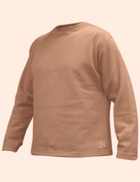 КОФТА TRU-SPEC POLYPROPYLENE CREWNECK TOP, 100% POLYPROPYLENE THERMAL FLEECE, BROWN