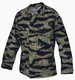 1590. КИТЕЛЬ TRU-SPEC BDU 100% ХЛОПОК TIGER STRIPE